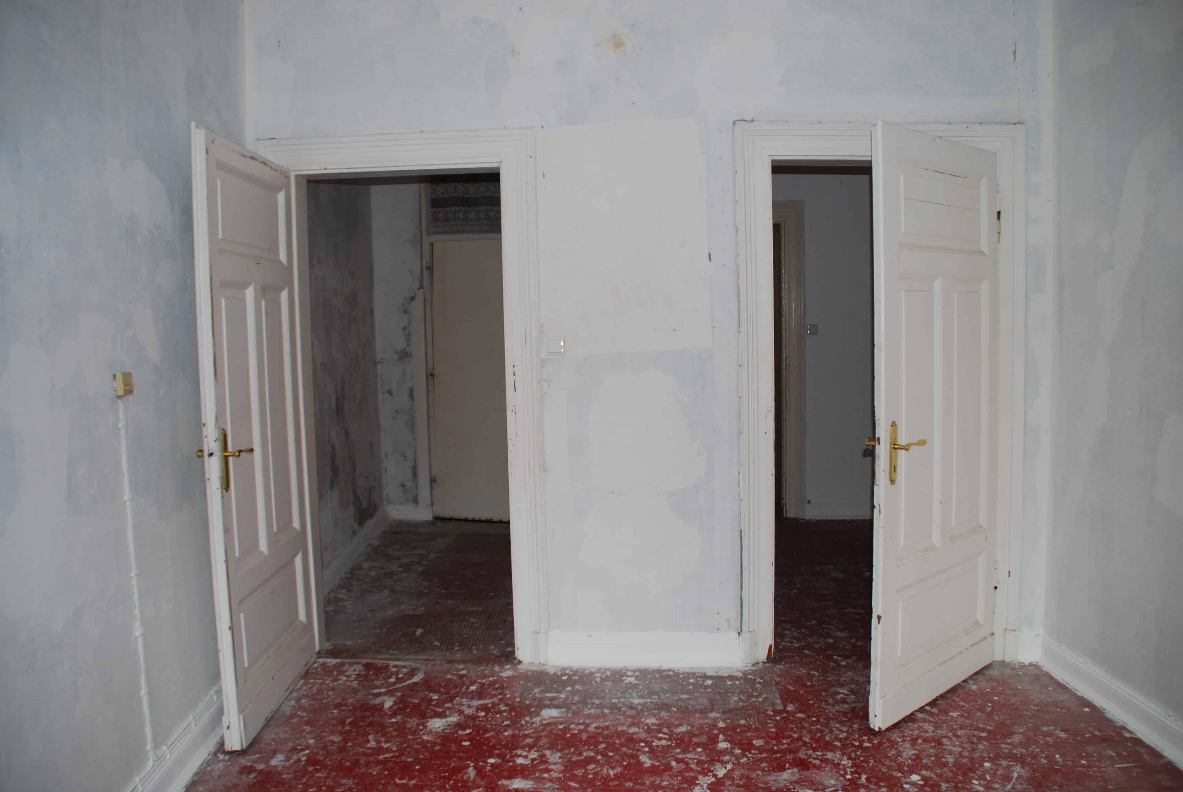 Gekauftes Mehrfamilienhaus nach der Sanierung